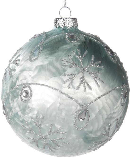 bol.com | Goodwill - Kerstbal -Kerstdecoratie - Frost - IJsblauw ...