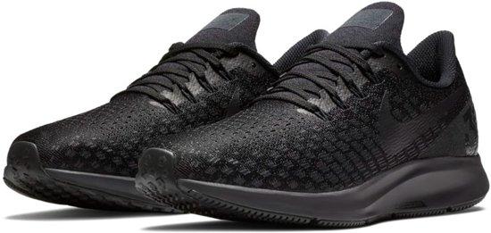 Nike Air Zoom Pegasus 35 Hardloopschoenen Sportschoenen - Maat 43 - Mannen  - zwart