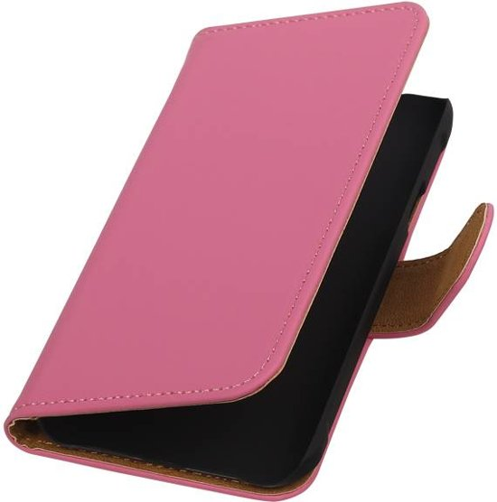 Wicked Narwal | bookstyle / book case/ wallet case Hoes voor Samsung galaxy j1 2015 Ace Roze