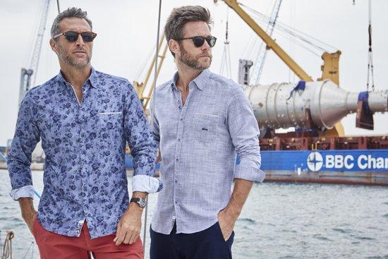 MaatDario Beltram Geblokt Xl Overhemd Grote Blauw 5 Kilo Wit 5A4jqR3L