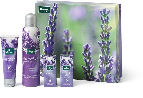Kneipp Genieten Premium Lavendel Foam - 4 delig - Geschenkset