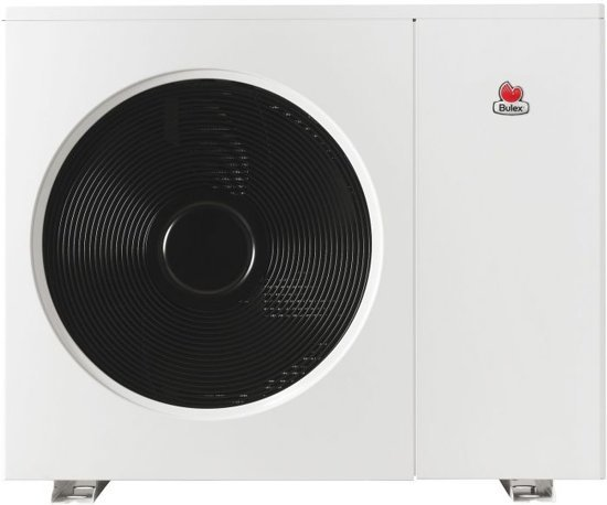 Bulex CC lucht/water-warmtepomp Genia air vermogen 15KW klasse ErP A+ afmetingen  1340 x 1103 x 415 mm
