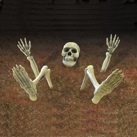 9 Pieces Groundbreaker Lawn Skeleton