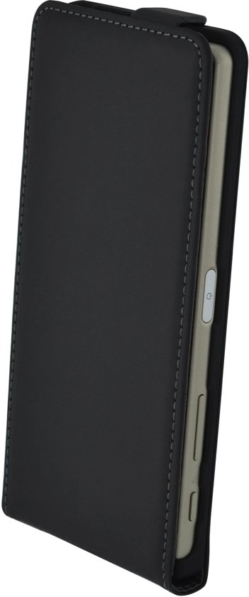 Mobiparts Premium Flip Case Sony Xperia X Black in Beinum