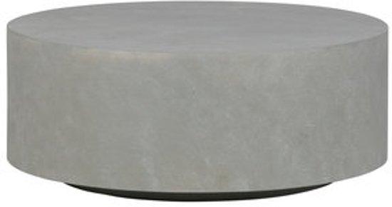 Woood Tafel Rond : Bol woood dean salontafel betonlook grijs medium