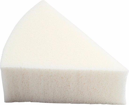 Driehoekige witte sponsjes 8 stuks