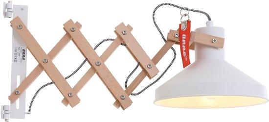 Fonkelnieuw bol.com | Hippe schaarlamp Anne Lighting Woody Scissors wit ZH-34