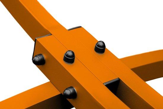 Potenza Grande- Tweepersoons hangmatstandaard /2-persoons hangmat standaard -Oranje