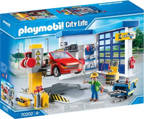 Afbeelding van PLAYMOBIL  Autogarage - 70202 speelgoed