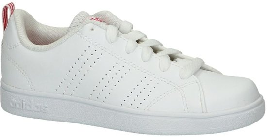adidas Vs Advantage Clean Lage sneakers Meisjes Maat 35 Wit;Witte Ftwr White