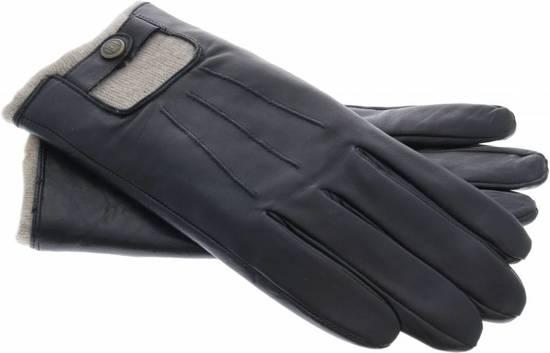 Uunique London - Zeer luxe touchscreen heren handschoenen van echt leder en kasjmier