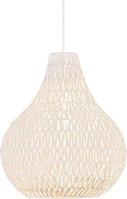 Uitzonderlijk bol.com | QAZQA Lina Drop 45 - Grote hanglamp - 1 Lichts - Ø45 cm HZ77