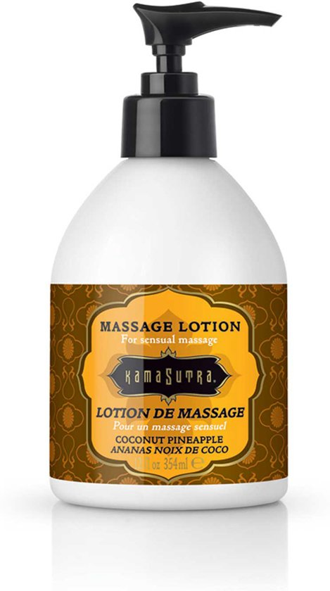 Kamasutra Coconut Pineapple Massagelotion