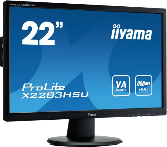Iiyama ProLite X2283HSU-B1DP - Full HD Monitor