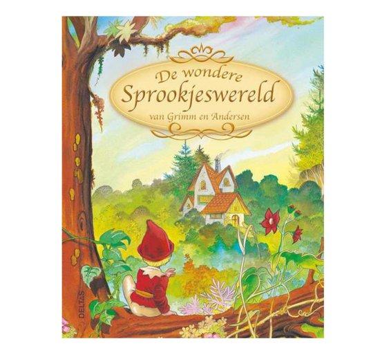 Boek cover De wondere sprookjeswereld van Grimm en Andersen van Jacob Grimm (Hardcover)