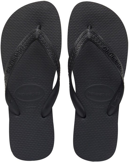 Havaianas Top Slippers Unisex - Black