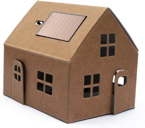 litogami bouwpakket huisje bruin op zonne. Black Bedroom Furniture Sets. Home Design Ideas