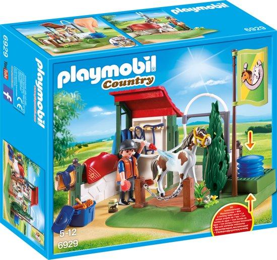 PLAYMOBIL Paardenwasplaats  - 6929