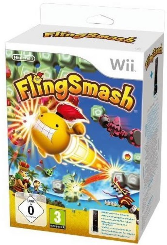 FlingSmash + Wii Controller Plus