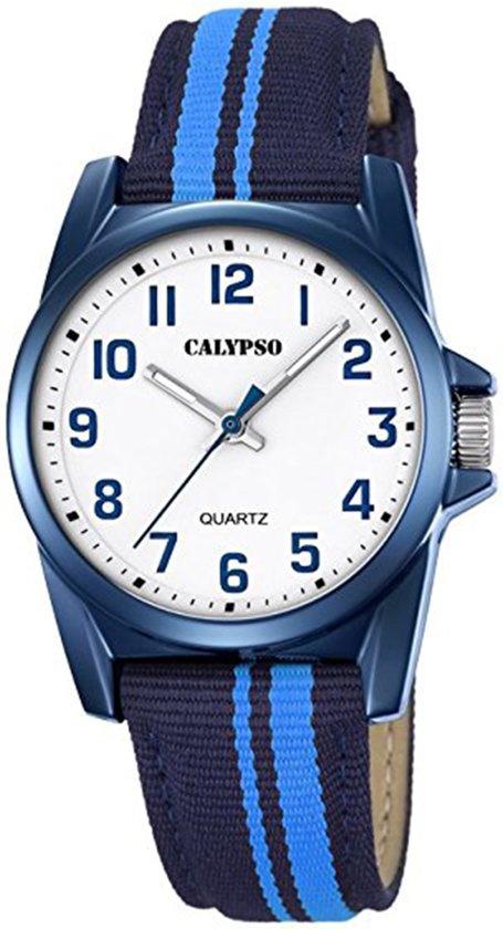 Calypso K5707/6 Kinderhorloge - Polshorloge - Kunststof - Zilverkleurig - Ø 32mm