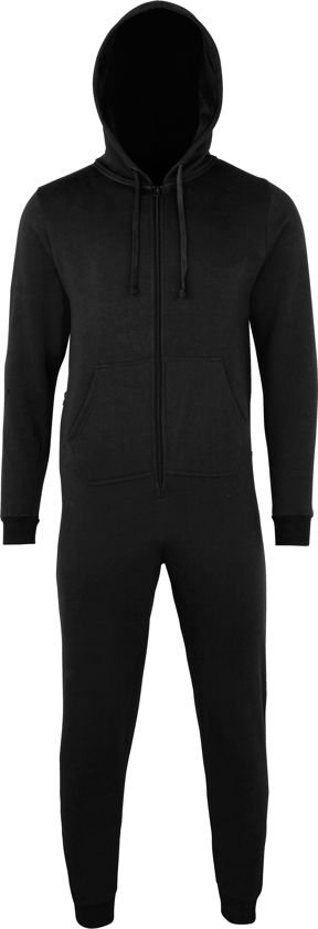 Onesie All-in-one Maat ZWART XS