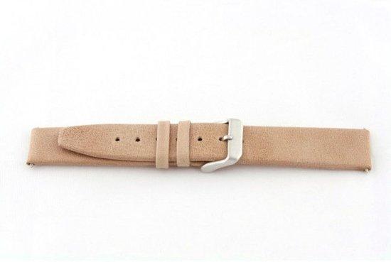 Echt leder horlogeband Beige 20mm G33
