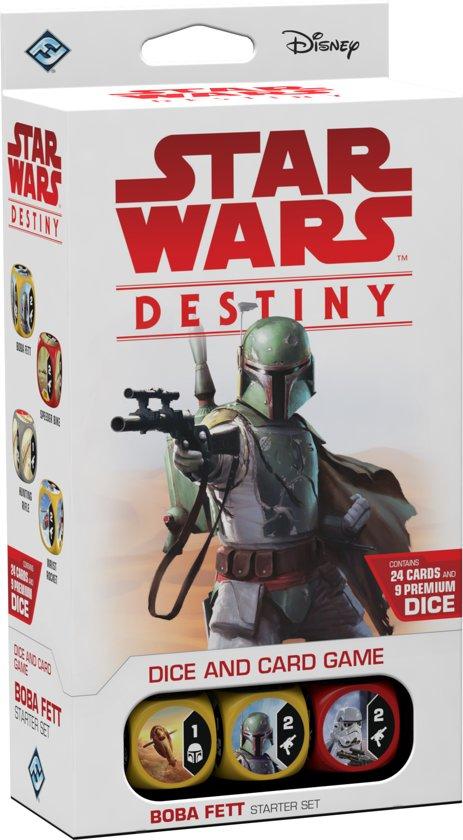 Afbeelding van het spel Star Wars Destiny Boba Fett Starter Set