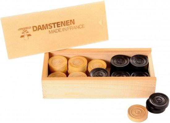 Longfield Games Damstenen 32mm - Palmhout