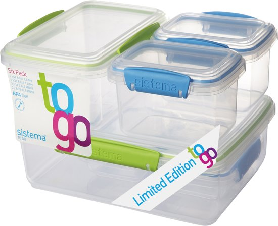 Sistema To Go 6-Delige Set