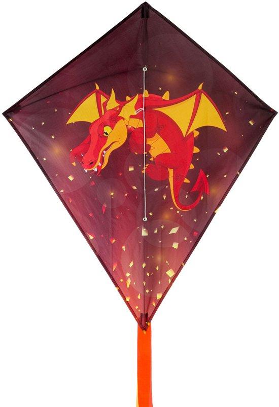 Dragon Fly Diamantvlieger - Draak - Rood/Zwart