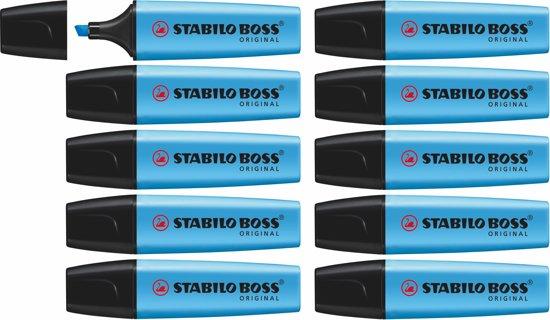 STABILO BOSS ORIGINAL Markeerstift Blauw