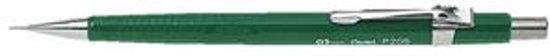 Vulpotlood - 0,5 mm - Pentel P205 - Groen