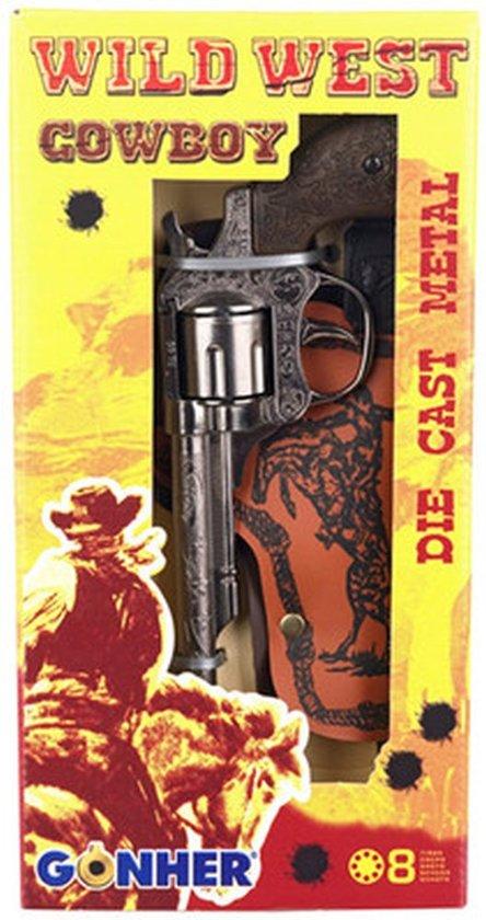 Cowboy Pistool Met Holster