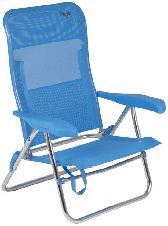 Strandstoel Bol Com.Crespo Strandstoel Al 205 Blauw 05