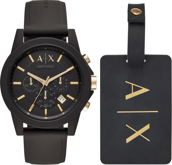 Armani Exchange Heren horloge  - Zwart