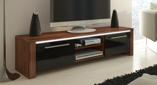 Led Verlichting Kast : Bol tv meubel tv kast orlanda met led verlichting donker
