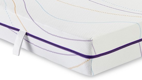 M line Wave Light koudschuim matras - 125 nachten proefslapen - 2 hardheden - 90x220 cm