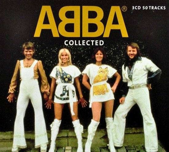 CD cover van Collected van ABBA