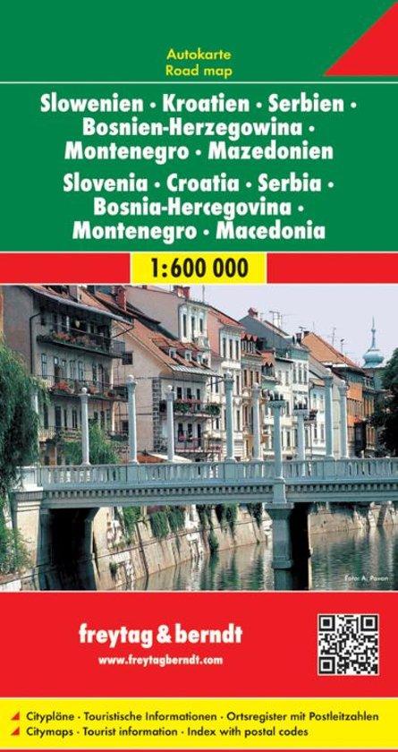 FB Slovenië • Kroatië • Servië • Bosnië-Herzegovina • Montenegro • Macedonië