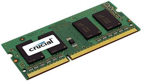 Crucial 4GB DDR3L SODIMM 1600MHz (1 x 4 GB)