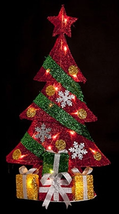 Kerstboom met  led-verlichting 74 cm Valentinaa