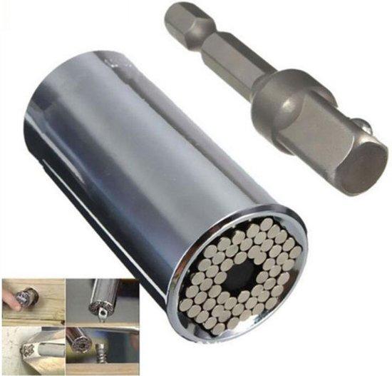 Gator Grip Dopsleutelset - 7mm tot 19mm in 1 Dopsleutel