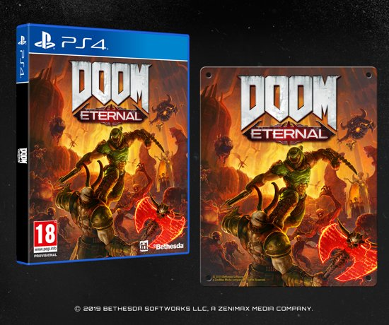 Doom Eternal - Special Edition - PS4