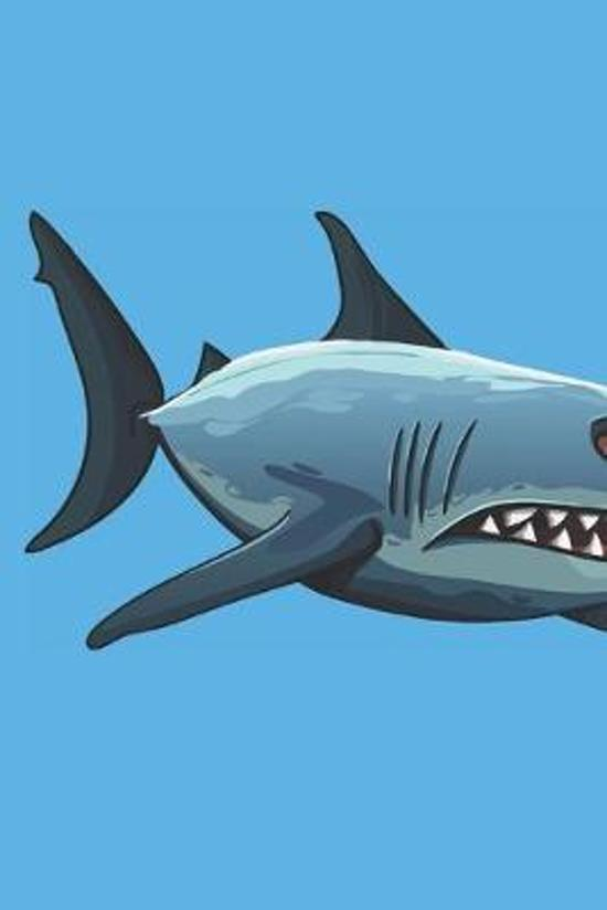 Shark Composition Notebook: Primary Ruled Notebook Lined School Journal - 110 Pages - 7.5 x 9.25'' - Children Kids Girls Boys Teens Women Wide Rule