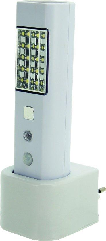profile noodverlichtingslamp led met sensor zowel oplaadbare zaklamp als nachtlampje. Black Bedroom Furniture Sets. Home Design Ideas