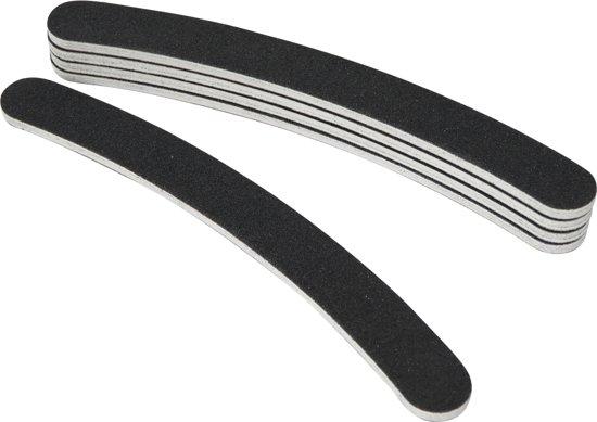 5x boemerang nagel vijlen #100/180, zwart