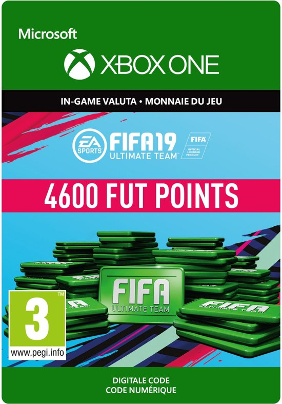 FIFA 19: Ultimate Team -  4.600 Points - Xbox One