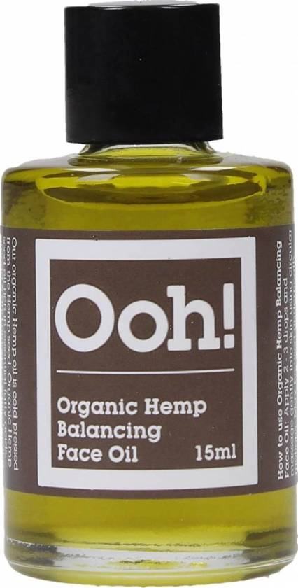Oils Of Heaven Organic Hemp Balancing Face Oil (15ml)