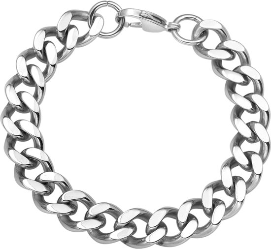The Jewelry Collection For Men Armband Gourmet - Staal