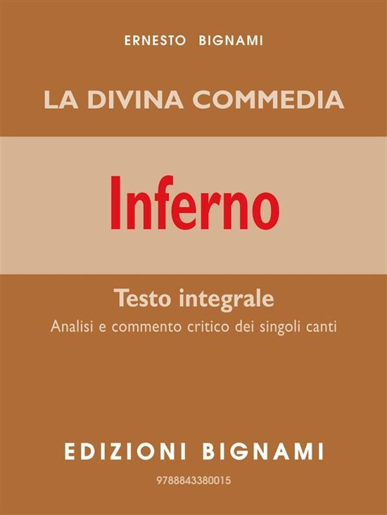 Divina Commedia Inferno Ebook
